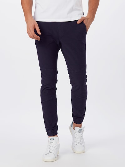TOM TAILOR DENIM Hose in schwarz, Modelansicht