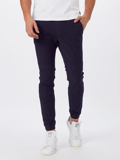 Pantaloni TOM TAILOR DENIM pe negru, Vizualizare model