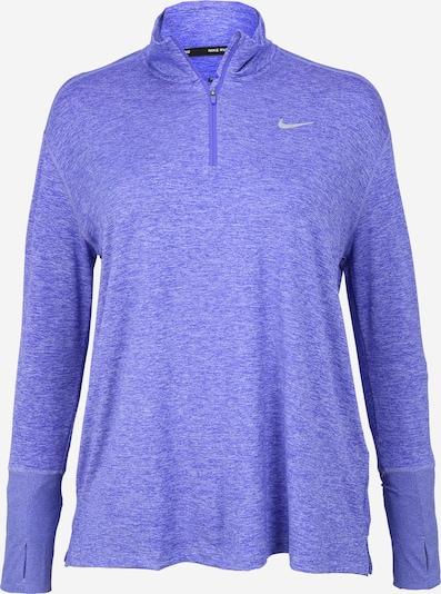 NIKE Sweat de sport 'Element' en violet, Vue avec produit