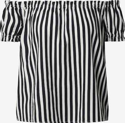 VERO MODA Bluza 'VMHELENMILO OFF SHOULDER TOP STRIPE WVN' | nočno modra / bela barva, Prikaz izdelka