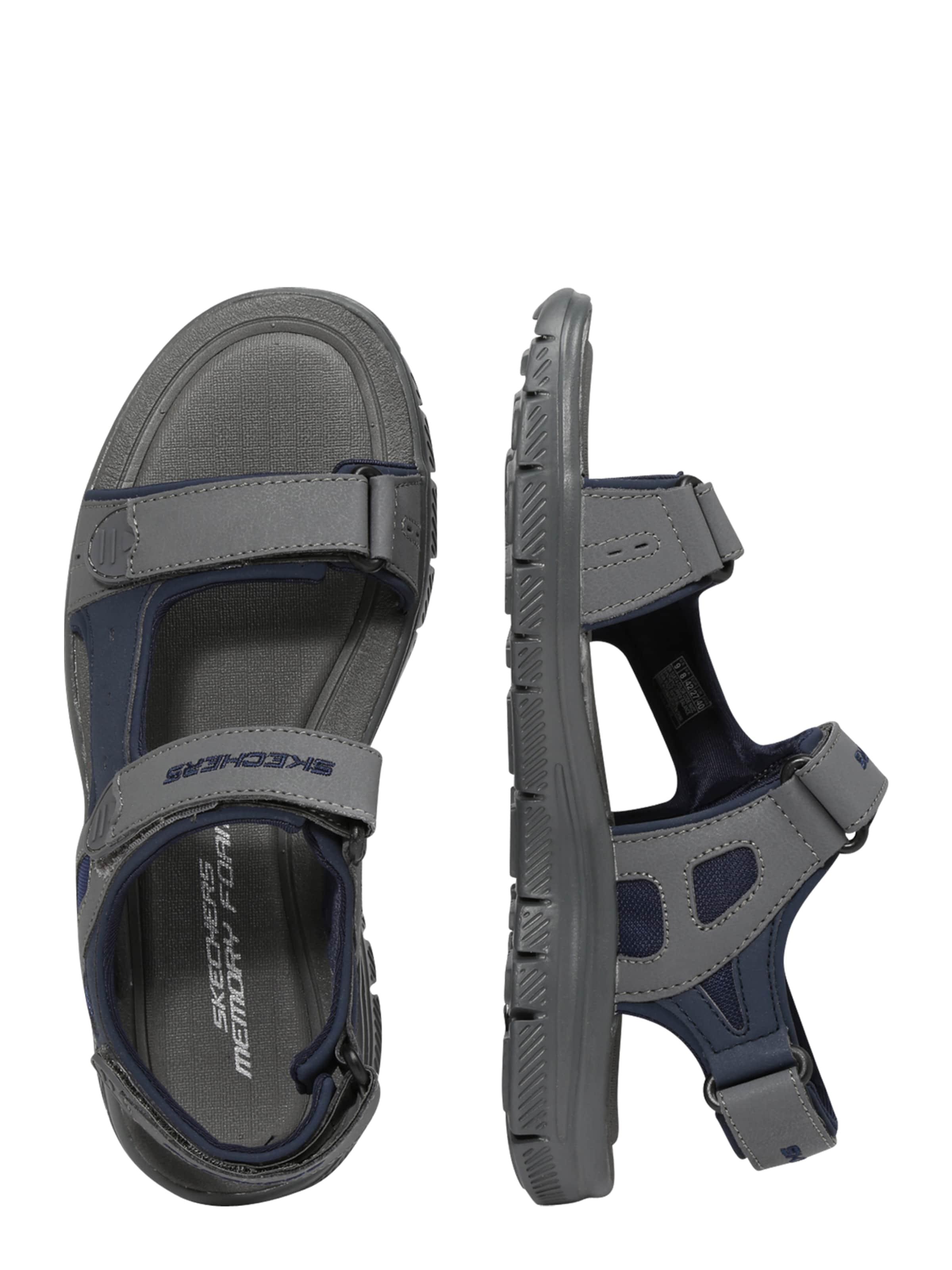 Skechers In Sandale DunkelblauGrau 'flex AdvantagesUpwell' LR54Aj