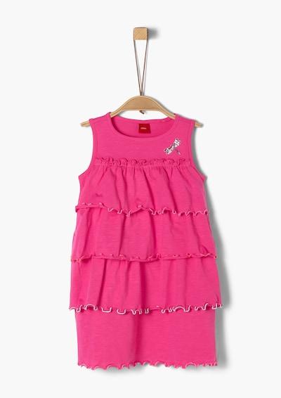s.Oliver Kleid in pink, Produktansicht
