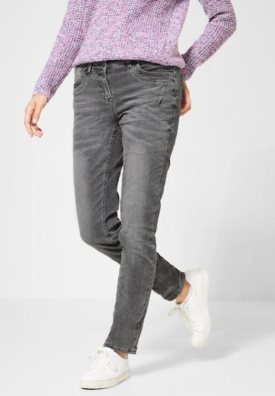 CECIL Jeans  'Scarlett' in grey denim, Modelansicht