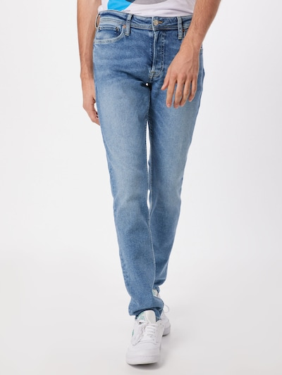 JACK & JONES Jeans 'Glenin' in blue denim, Modelansicht