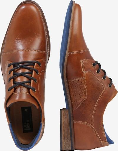 Batai su raišteliais iš BULLBOXER , spalva - ruda (konjako): Vaizdas iš šono