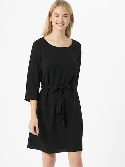 VILA Kleid 'RASHA' in schwarz, Modelansicht