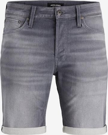 Jack & Jones Plus Jeans Shorts in Grau