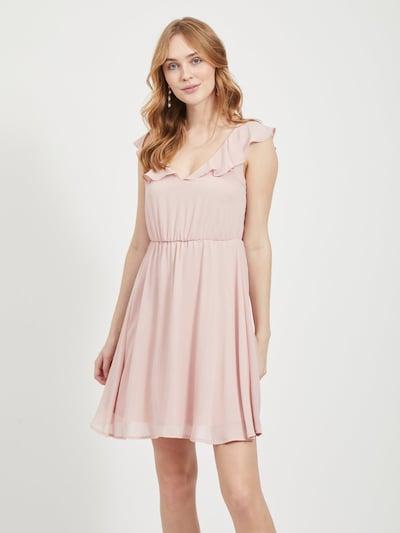 VILA Kleid in altrosa, Modelansicht