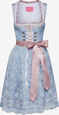 Rochițe tiroleze de la Krüger Madl pe albastru