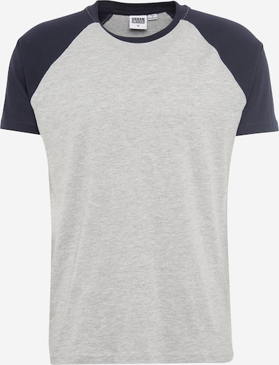 Urban Classics T-Shirt in navy / grau: Frontalansicht