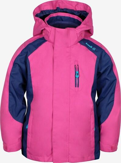 Kamik 3 in 1 Outfoorjacke 'Seraphina' in dunkelblau / pink, Produktansicht