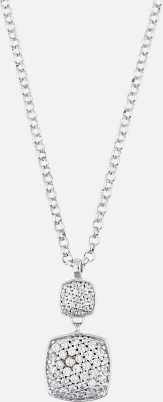 ESPRIT Halskette Antigone Gala mit Zirkonia-Doppelanhänger