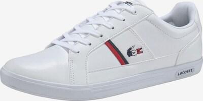 LACOSTE Sneakers laag 'Europa' in de kleur Wit, Productweergave