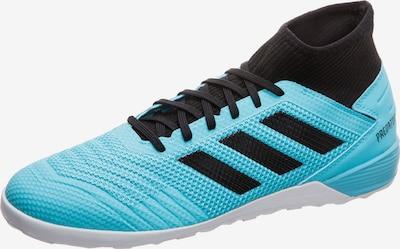 ADIDAS PERFORMANCE Fußballschuhe 'Predator 19.3 Indoor' in hellblau / schwarz, Produktansicht