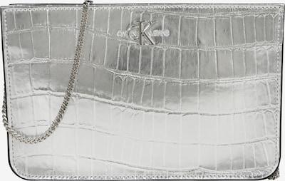 Calvin Klein Jeans Tasche 'CKJ MONO HARDWARE FLAT XBODY C' in silber, Produktansicht