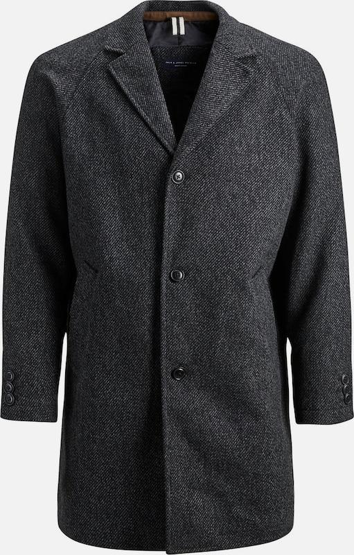 JACK & JONES Mantel in schwarz  Große Preissenkung