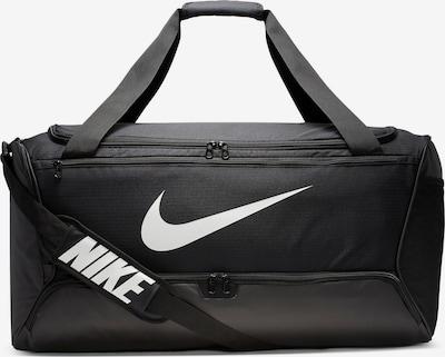 NIKE Sporttasche 'Brasilia L' in schwarz / weiß, Produktansicht