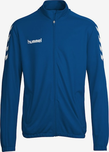 Hummel Trainingsjacke 'Core Poly Jacket' in himmelblau / weiß, Produktansicht