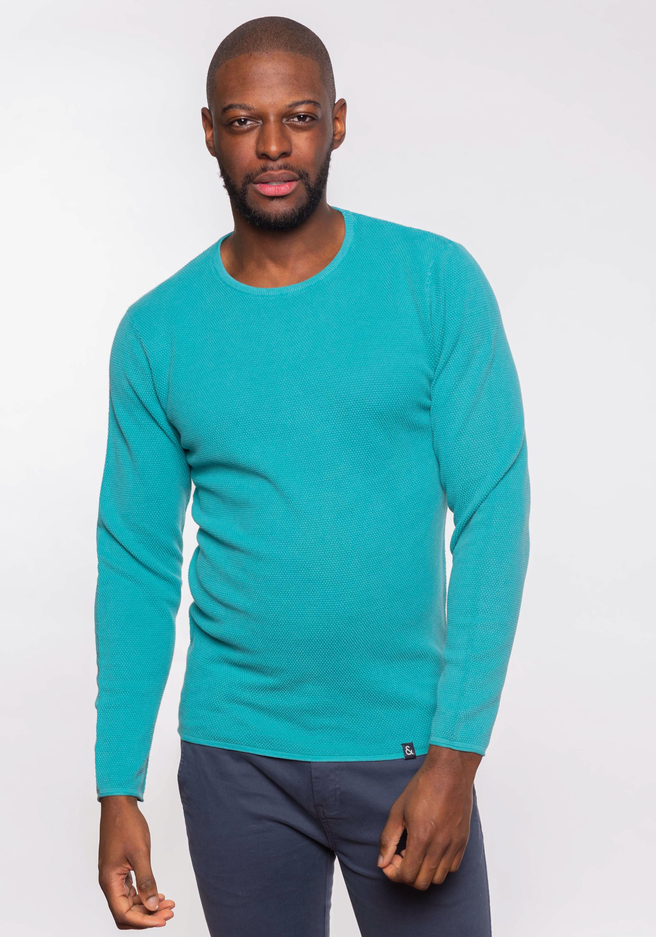 'noah' Pullover In Türkis Sons Coloursamp; FJcTl1K