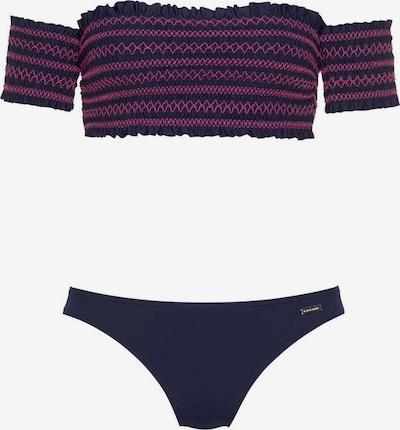 LASCANA Bandeau-Bikini in navy, Produktansicht