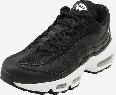 Sportbačiai be auliuko 'Air Max 95 Essential' iš Nike Sportswear , spalva - juoda / balta, Prekių apžvalga