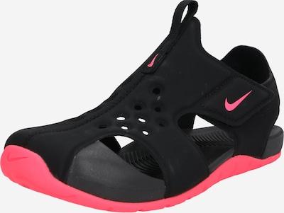 Nike Sportswear Badeschuh 'Sunray Protect 2 TD' in pink / schwarz, Produktansicht
