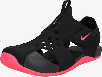 NIKE Sandale 'Sunray Protect 2 TD' in pink / schwarz, Produktansicht