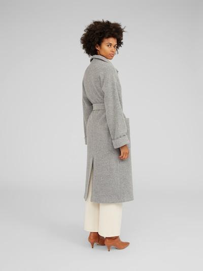 Rudeninis-žieminis paltas 'Yona' iš EDITED , spalva - pilka / margai pilka: Vaizdas iš galinės pusės