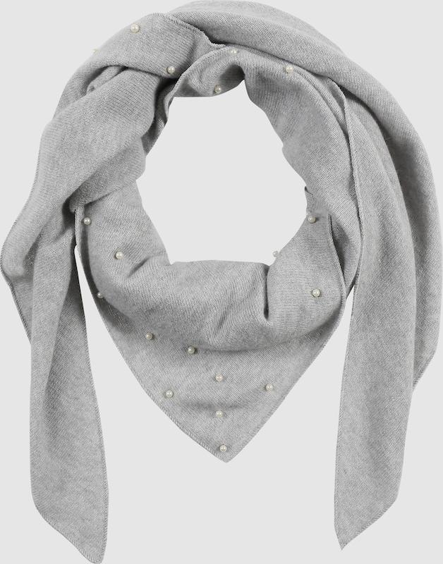 Zwillingsherz Dreieckstuch mit Perlen-Besatz