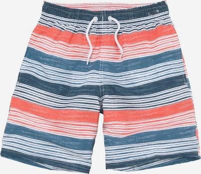 s.Oliver Badeshorts in blau / orange / weiß, Produktansicht