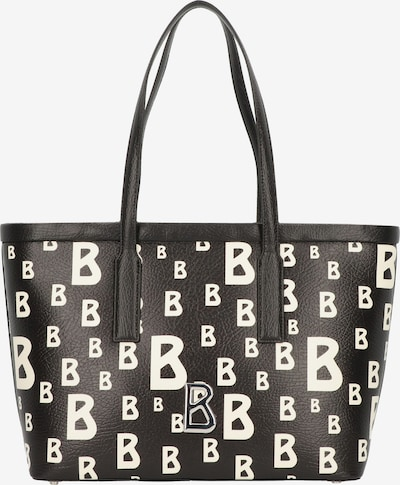 BOGNER Shopper 'Arosa Mitra' in schwarz / weiß, Produktansicht