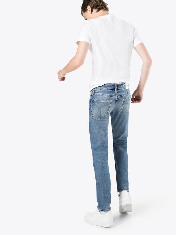'ckj Slim' Klein Jean Calvin En Jeans Bleu Denim 026 rxQdBotshC
