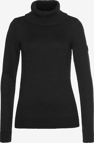KangaROOS Pullover in Schwarz