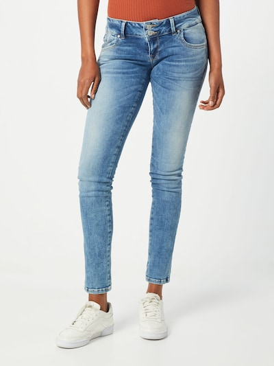 LTB Jean 'Molly' en bleu denim: Vue de face