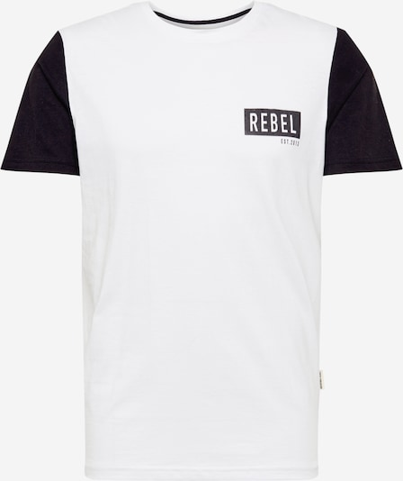 Redefined Rebel Shirt 'Luka' in de kleur Zwart / Wit, Productweergave