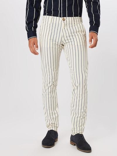 GUESS Hose 'MYRON' in beige / navy: Frontalansicht