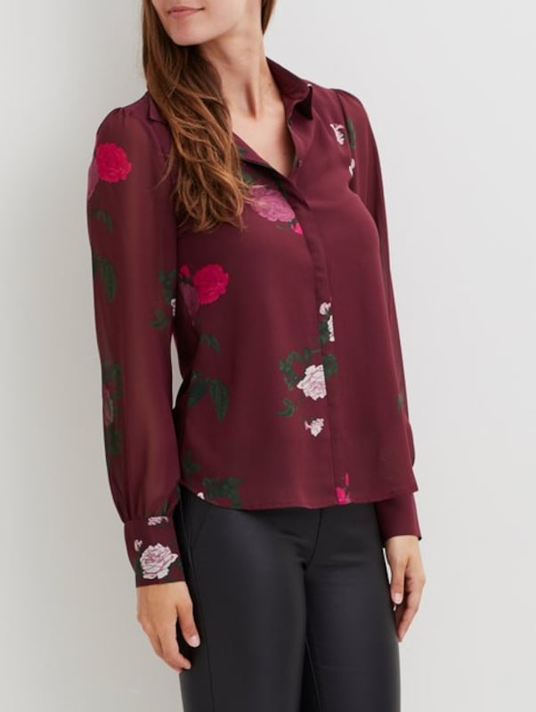 Object Patterned Shirt