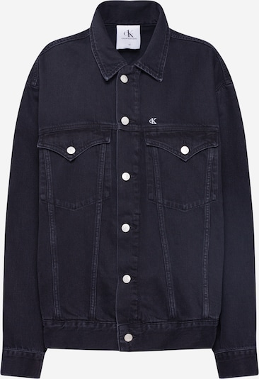 Calvin Klein Jeans Jeansjacke 'OVERSIZED FOUNDATION' in black denim, Produktansicht