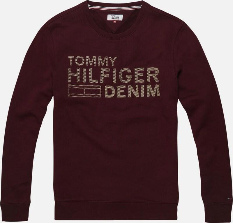 Tommy Jeans Sweatshirt Thdm Emb Cn Hknit L/s 36