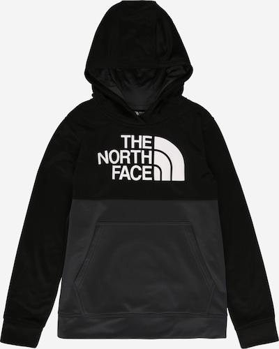 THE NORTH FACE Sweat 'SURGENT' en anthracite / blanc: Vue de face