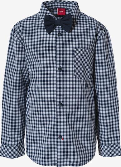 s.Oliver Junior Hemd in blau / weiß, Produktansicht