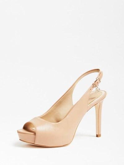 GUESS Schuhe in beige, Produktansicht