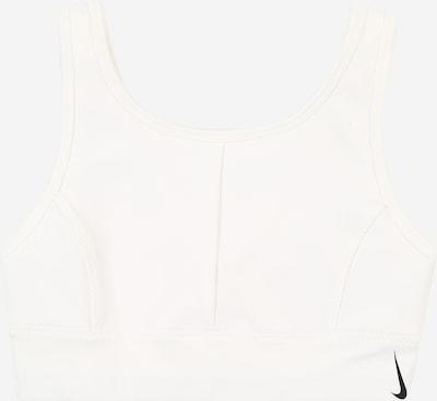 NIKE Sportunterwäsche 'Swoosh Luxe' in schwarz / weiß, Produktansicht