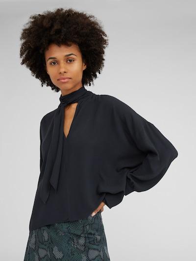 EDITED Bluse 'Lesly' in schwarz, Modelansicht