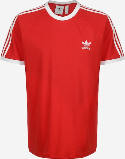 ADIDAS ORIGINALS T-Shirt ' 3-Stripe ' in blutrot, Produktansicht
