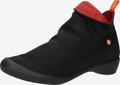 Softinos Stiefelette in navy / rot, Produktansicht