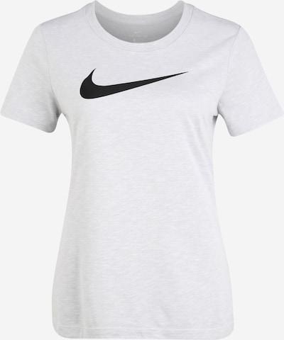 NIKE Camiseta funcional en gris claro / blanco, Vista del producto