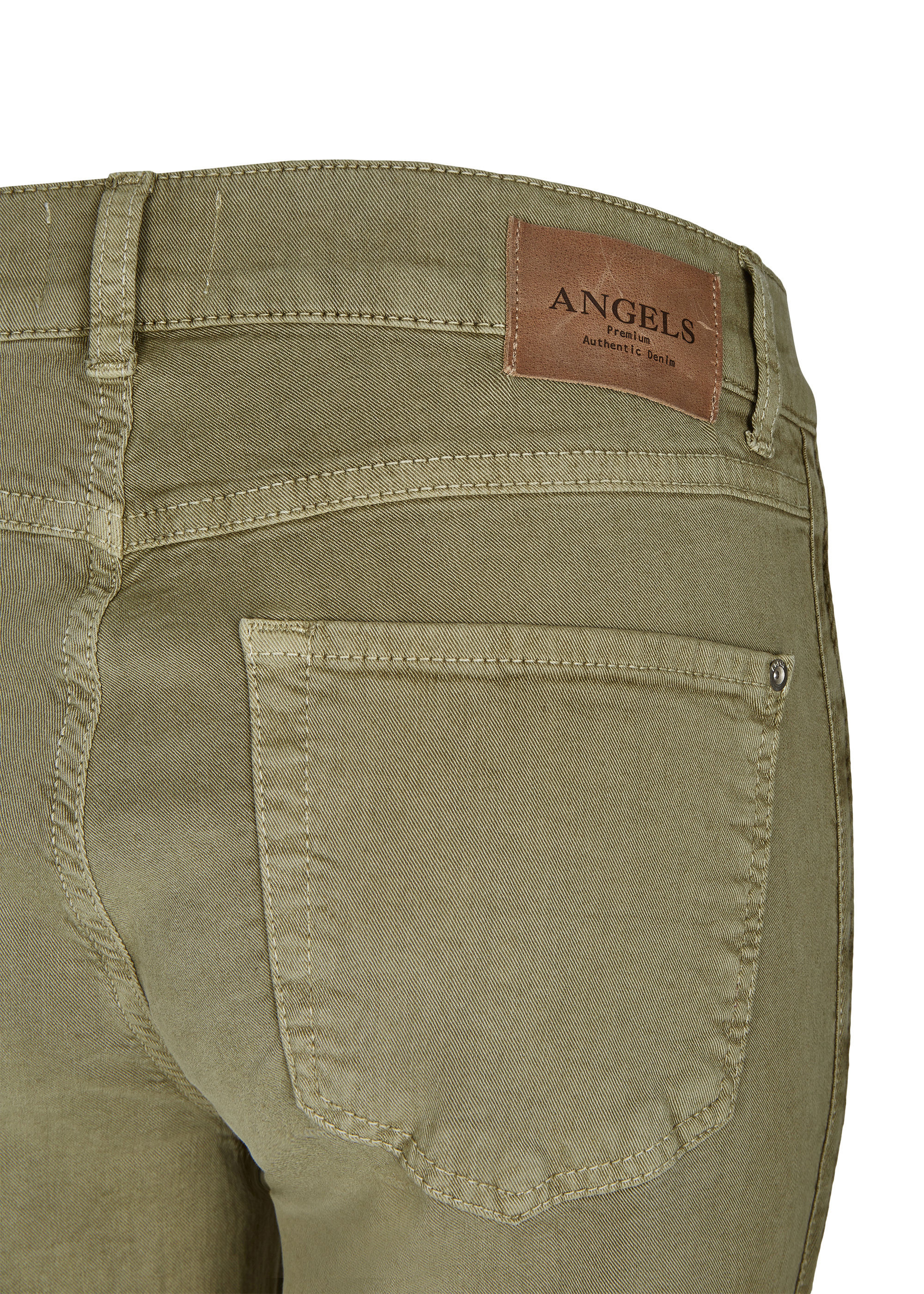 Angels Jeans Skinny Galon in khaki CutTVHgY