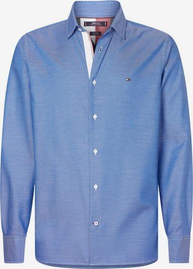 TOMMY HILFIGER Hemd 'FLEX TWO TONE DOBBY' in dunkelblau, Produktansicht