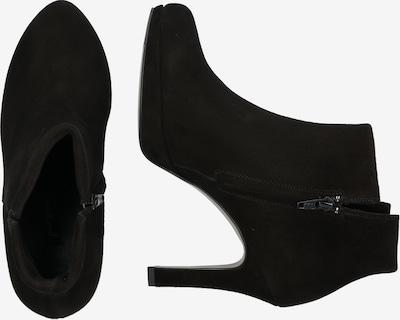 Kulkšnis dengiantys batai iš Paul Green , spalva - juoda: Vaizdas iš šono